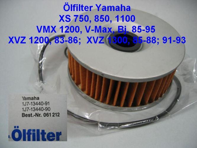ÖlFILTER  HIFLO HF146 Yamaha XS 1100 5K7 Bj 1981-1982
